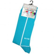 DIESEL - CHAUSSETTES TURQUOISE