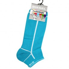 DIESEL - CHAUSSETTES INVISIBLES TURQUOISE