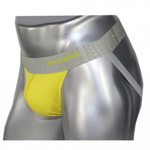 DIESEL - JOCK STRAP MICROFIBRE JAUNE - PLATINIUM COLLECTION