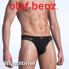 OLAF BENZ - SLIP RED1380 BRAZILBRIEF NOIR