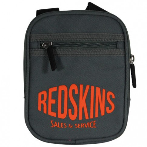REDSKINS - PORTE CROISE XS TISSU EXTRA PLATE GRIS