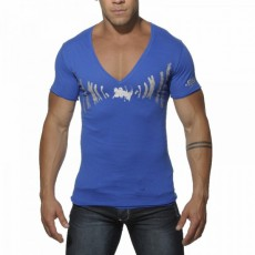 ES - TS056 TEE SHIRT COTON SOUND BLEU ROYAL
