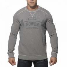 ES - SP040 SWEAT COTON GRIS