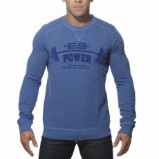 ES - SP040 SWEAT COTON BLEU ROYAL