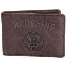 REDSKINS - PORTE CARTES R-UP MARRON