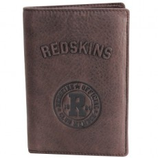 REDSKINS - PORTEFEUILLE A LA FRANCAISE VERTICAL R-UP MARRON