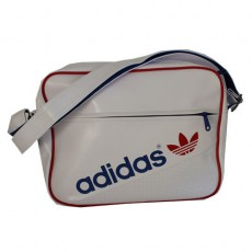 ADIDAS - BESACE / SAC AIRLINER PERFORMANCE BLANC / BLEU / ROUGE F79441