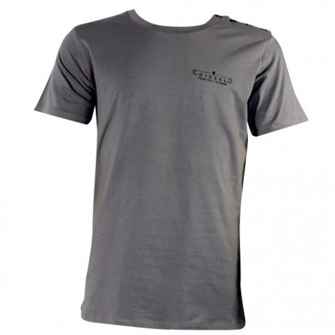 DIESEL - TEE SHIRT RANDAL COL ROND  TAUPE