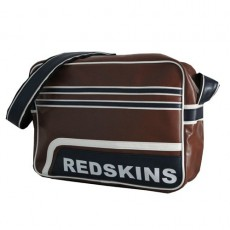 REDSKINS - BESACE A4 TONIK MARRON / BLEU