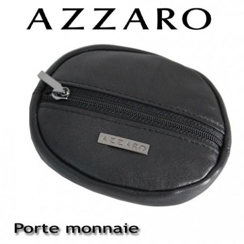 AZZARO - PORTE-MONNAIE ROND ZIPPE
