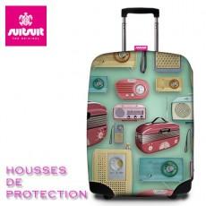 SUIT SUIT - HOUSSE DE PROTECTION VALISE - RADIOS