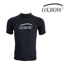 OXBOW - TOP LYCRA DE SURF NOIR