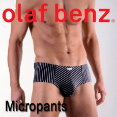 OLAF BENZ - BOXER RED1383 MICROPANTS NOIR