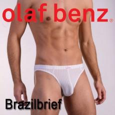 OLAF BENZ - SLIP RED1382 BRAZILBRIEF BLANC