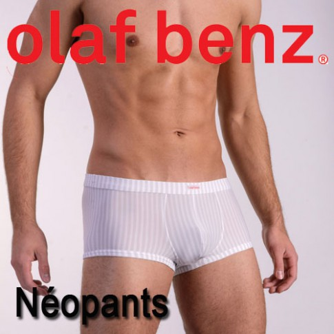 OLAF BENZ - BOXER RED1382 NEOPANTS BLANC