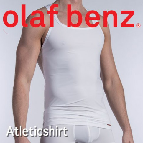 OLAF BENZ - ATHLETICSHIRTS RED1414 T-SHIRT HOMME NOIR