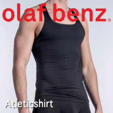 OLAF BENZ - ATHLETICSHIRTS RED1414 T-SHIRT HOMME BLANC