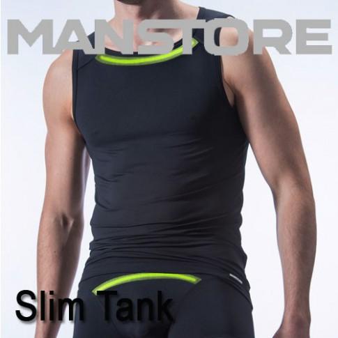 MANSTORE - SLIM TANK M410 DEBARDEUR HOMME NOIR