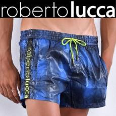 ROBERTO LUCCA - SHORT DE BAIN RL14048 BUBBLES BLEU