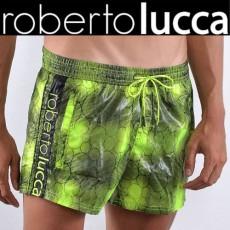 ROBERTO LUCCA - SHORT DE BAIN RL14048 BUBBLES VERT