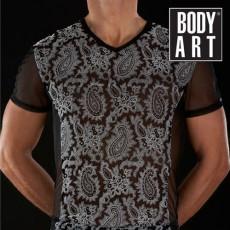 BODYART - V Shirt HERMES Noir