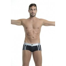 L'HOMME INVISIBLE - ACTIVE V BOXER NOIR