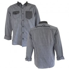 KAPORAL - CHEMISE HOVAL ANTHRACITE