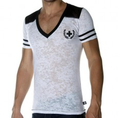 CHRISTIAN ANDREW T-SHIRT SKINNY FOOTBALL