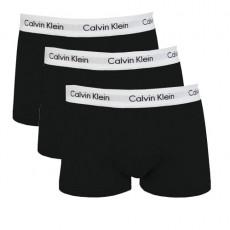 CALVIN KLEIN - PACK DE 3 BOXERS SHORTY COTON NOIR