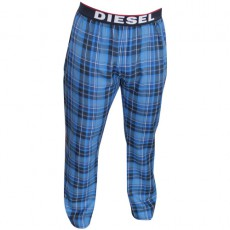 DIESEL - PANTALON D INTERIEUR A CARREAUX GRIS ANTHRACITE