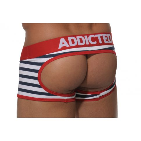 BOXER JOCK AD20 SAILOR ROUGE  ADDICTED