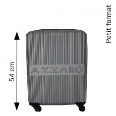 VALISE FORMAT CABINE 54 CM GRISE AZZARO
