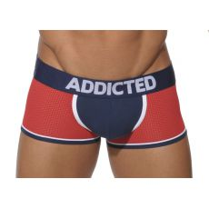 BOXER ROUGE NAVY EN MESH AD192 ADDICTED