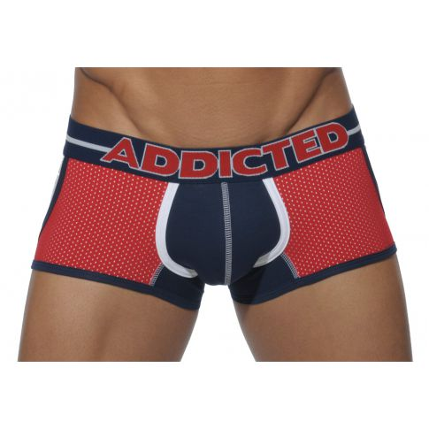 BOXER ROUGE AD245 BORN FREE ADDICTED