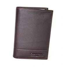PORTEFEUILLE GRAND CLASSIQUE MARRON 100 % CUIR - ROME II CUIR- CHABRAND