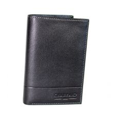 PORTEFEUILLE GRAND CLASSIQUE NOIR 100 % CUIR - ROME II CUIR- CHABRAND