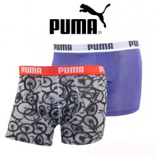 PUMA LOT DE 2 BOXER HOMME CYCLING NOIR 531003001