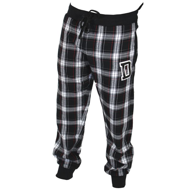 Pantalon d interieur a carreaux noir et blanc patchboy for Pantalon interieur homme