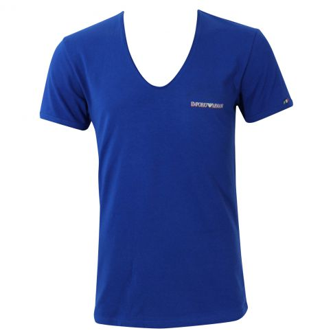 T-SHIRT COTON COL ROND SPECIAL ITALIE ARMANI