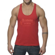 DEBARDEUR ROUGE POWER GYM TS077 - ES COLLECTION