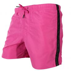 SHORT DE BAIN MEDIUM ROSE BANDE LOGOTE - ARMANI