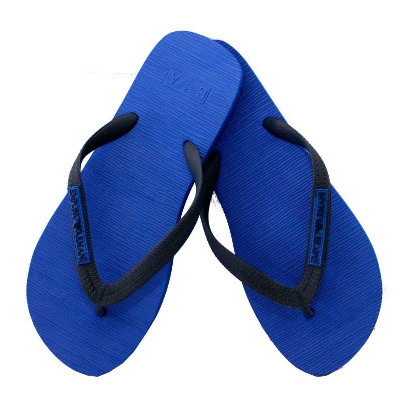 dernière mode gros remise répliques Claquette / tongs mono color bleu royal - armani ...