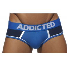 SLIP NAVY DOUBLE BINDING AD274 - ADDICTED