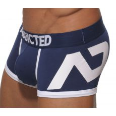 BOXER NAVY AD LOGO PUSH UP AD156 - ADDICTED
