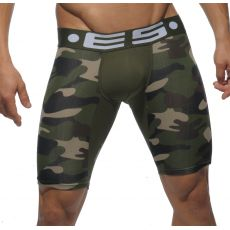 BOXER MI LONG CAMOUFLAGE VERT UN094 - ES COLLECTION