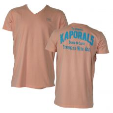 T-SHIRT MANCHE COURTE ENSSENTIEL NEON ORANGE - KAPORAL