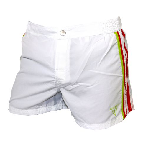SHORT DE BAIN OPTIC WHITE - GUESS