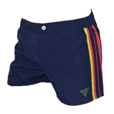 SHORT DE BAIN NAVY COSMOS BLUE - GUESS