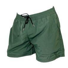 SHORT DE BAIN COURT KAKI GOOD GREEN - GUESS