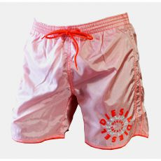 SHORT DE BAIN MARK-E BLANC/ORANGE FLUO - DIESEL